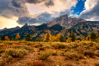 Fall Color on Mt. Moran