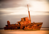 Shipwreck in the Desert